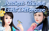 Game drawing Ancient chinese girls difference