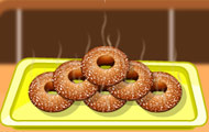 thumbnail of Apple sauce doughnuts