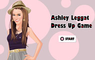gamespage with image Ashley Leggat dressup