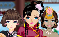 Image about Asian beauty dressup