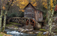gamespage with image Autumn at grist mill