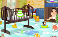 thumbnail of Baby room clean up