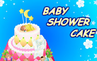 thumbnail of Baby shower cake