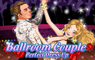 Game drawing Ballroom couple perfect