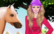 gamespage with image Barbie goes riding