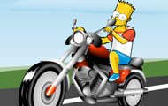 gamespage with image Bart bike fun