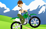 gamespage with image Ben 10 bike