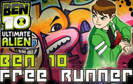 Game drawing Ben10 free runner