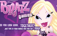 gamespage with image Bratz love meter