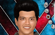 Game drawing Bruno mars make up