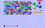 Game drawing Bubble Shooter