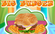 gamespage with image Big Burger